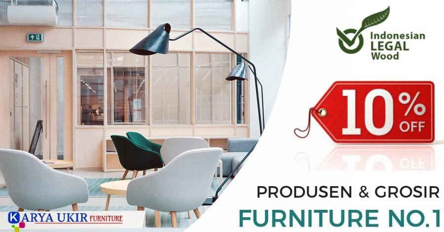 Daftar toko furniture Banjar terbaik modern menjual kursi tamu minimalis meja makan tempat tidur sampai dengan lemari pakaian bahan kayu jati